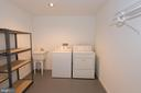 Lower Level Laundry Room - 11415 HOLLOW TIMBER WAY, RESTON