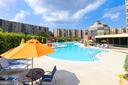 Outside Pool Area - 8340 GREENSBORO #903, MCLEAN