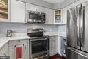 Kitchen with Stainless Steel Appliances - 2621 S WALTER REED DR #D, ARLINGTON
