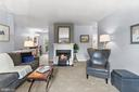 Living Room with Fireplace - 2621 S WALTER REED DR #D, ARLINGTON