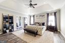 Owner's suite bedroom - 19598 SARATOGA SPRINGS PL, ASHBURN