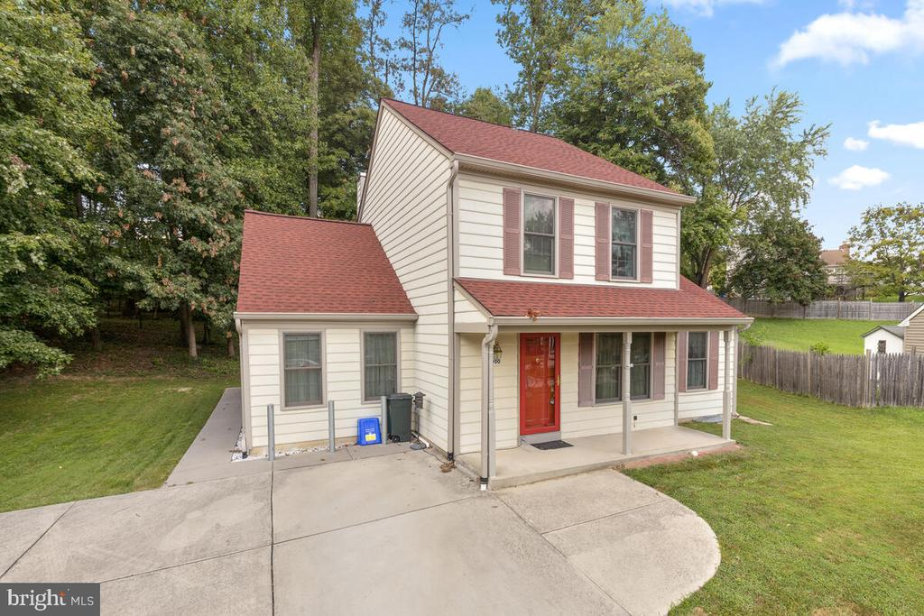Enlarge Driveway and Covered Front Sitting Porch - 3000 BEETHOVEN WAY, SILVER SPRING