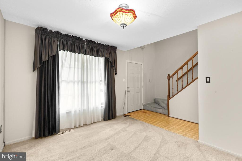 Alternate View of Living Room - 3000 BEETHOVEN WAY, SILVER SPRING