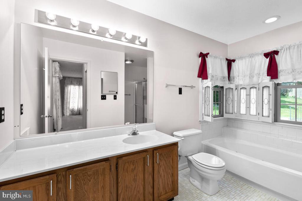 Spacious Primary Ensuite Bath - 3000 BEETHOVEN WAY, SILVER SPRING