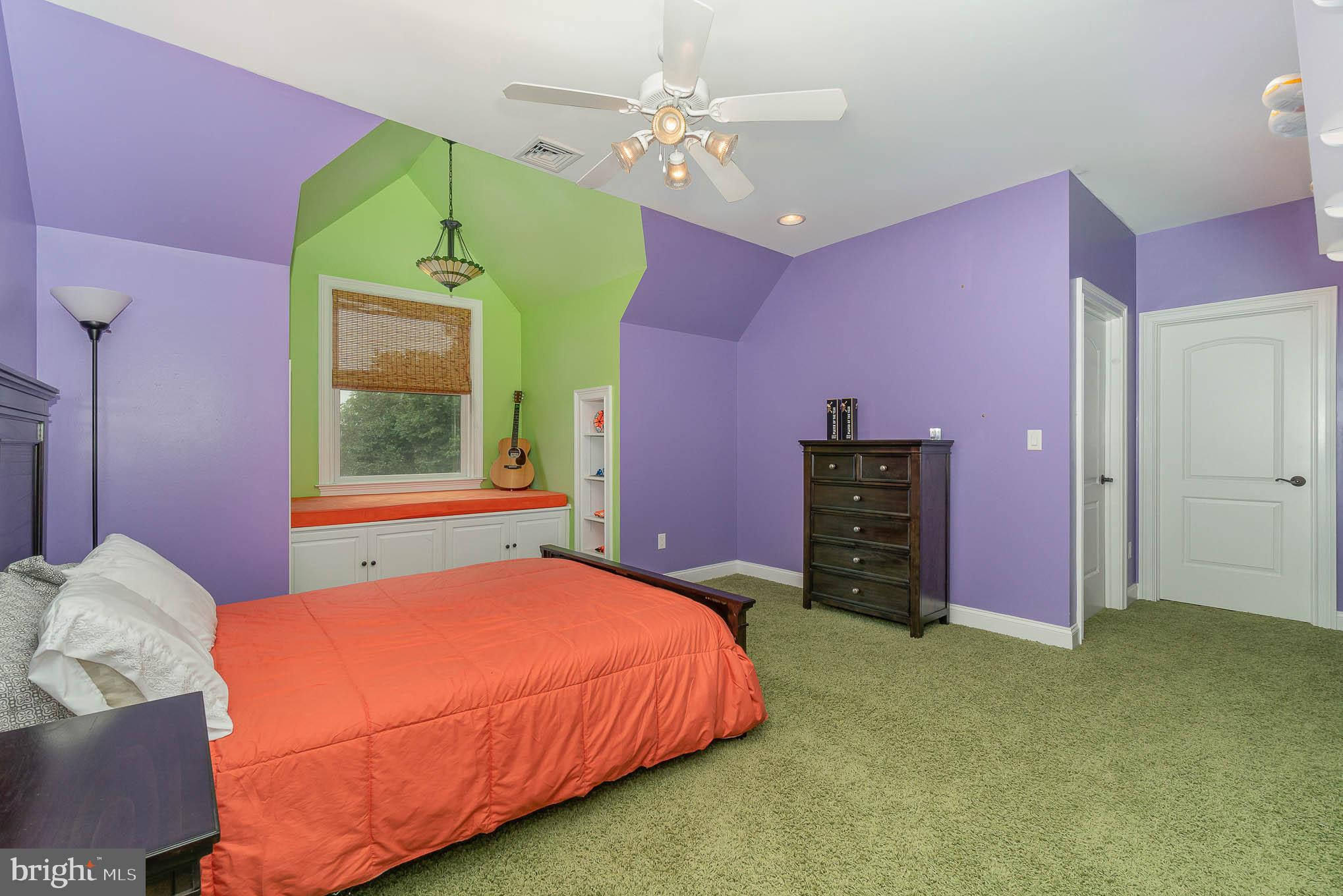 2nd floor - 5th BR suite w/ full BA  & large WIC