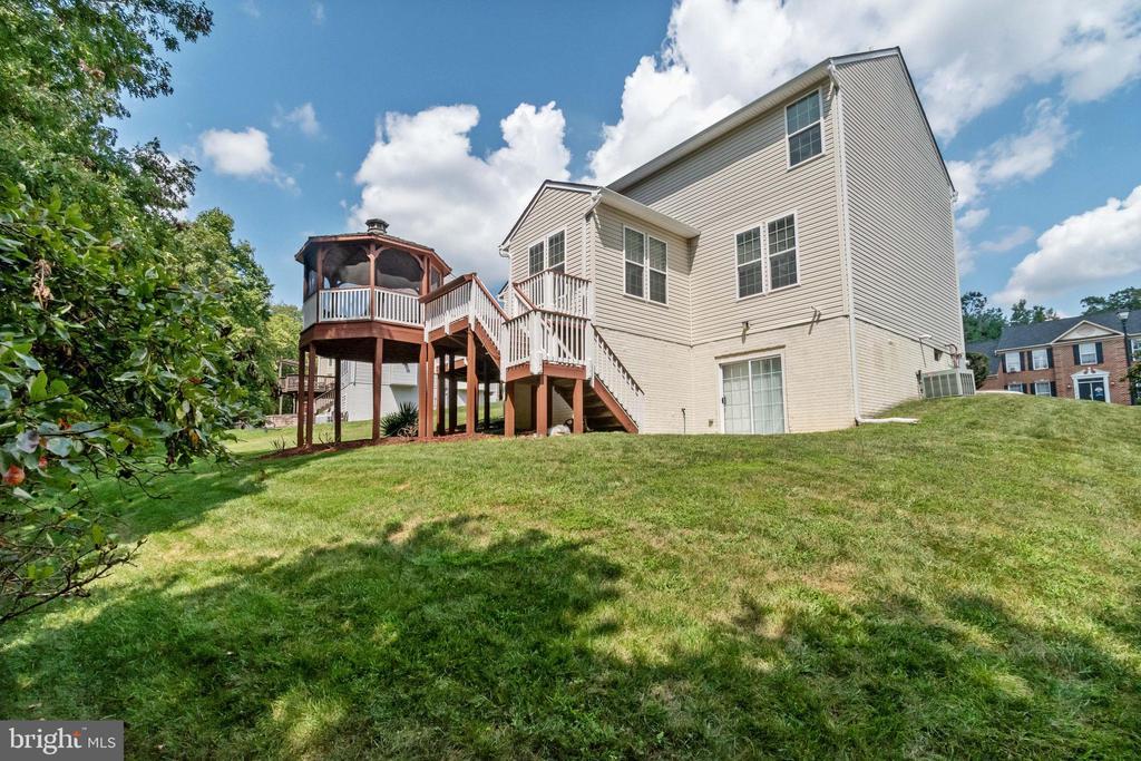 Side Backyard View - 7617 STRATFIELD LN, LAUREL