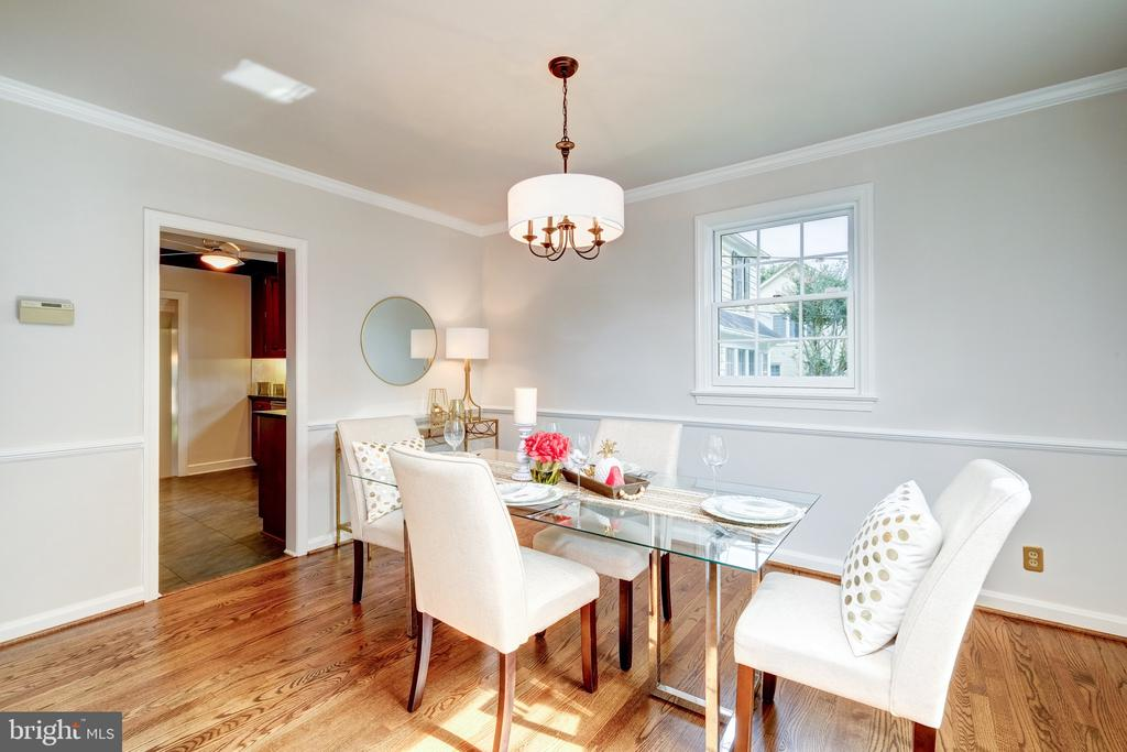 & newly painted interior! - 6112 WOODMONT RD, ALEXANDRIA