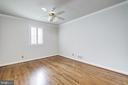 Enjoy a main level bedroom - 6112 WOODMONT RD, ALEXANDRIA