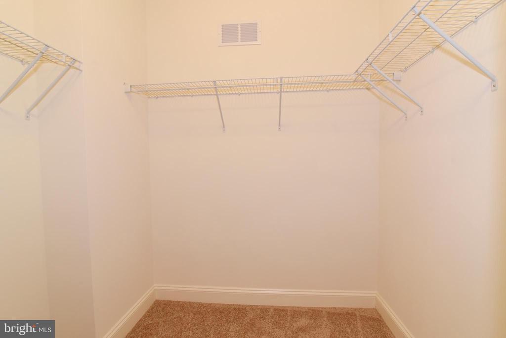Closet (1) in Master Bedroom - 9200 CHARLESTON DR #201, MANASSAS