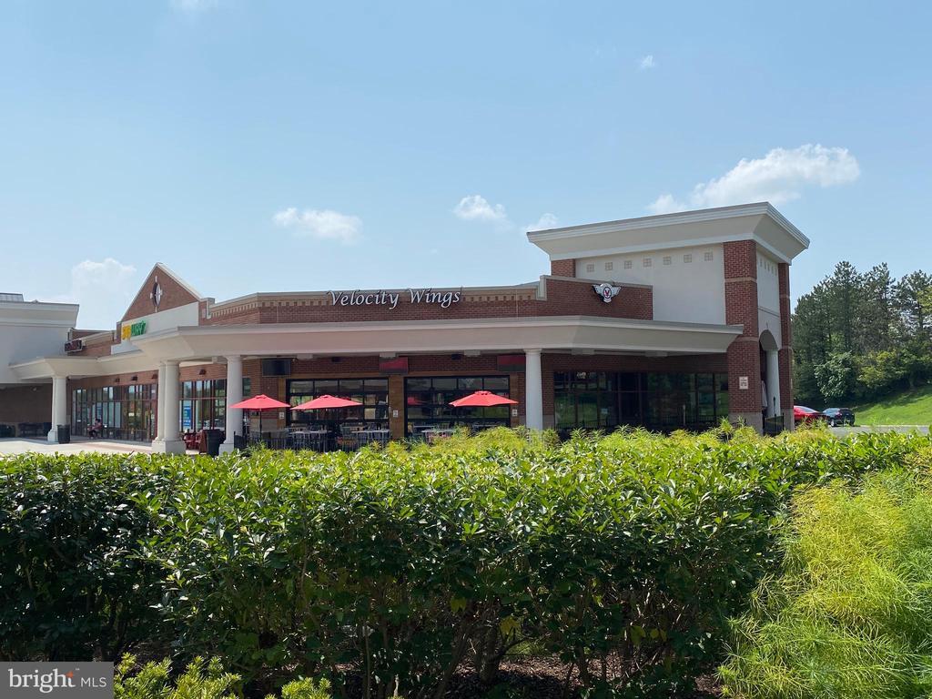 Restaurants including Velocity Wings  & Library - 9200 CHARLESTON DR #201, MANASSAS