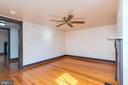 3rd bedroom is located on the 2nd floor. No closet - 331 HIGH ST, SHEPHERDSTOWN