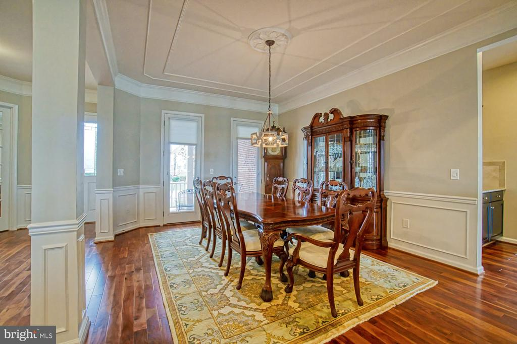 Formal dining room - 16604 FOX CHASE CT, LEESBURG