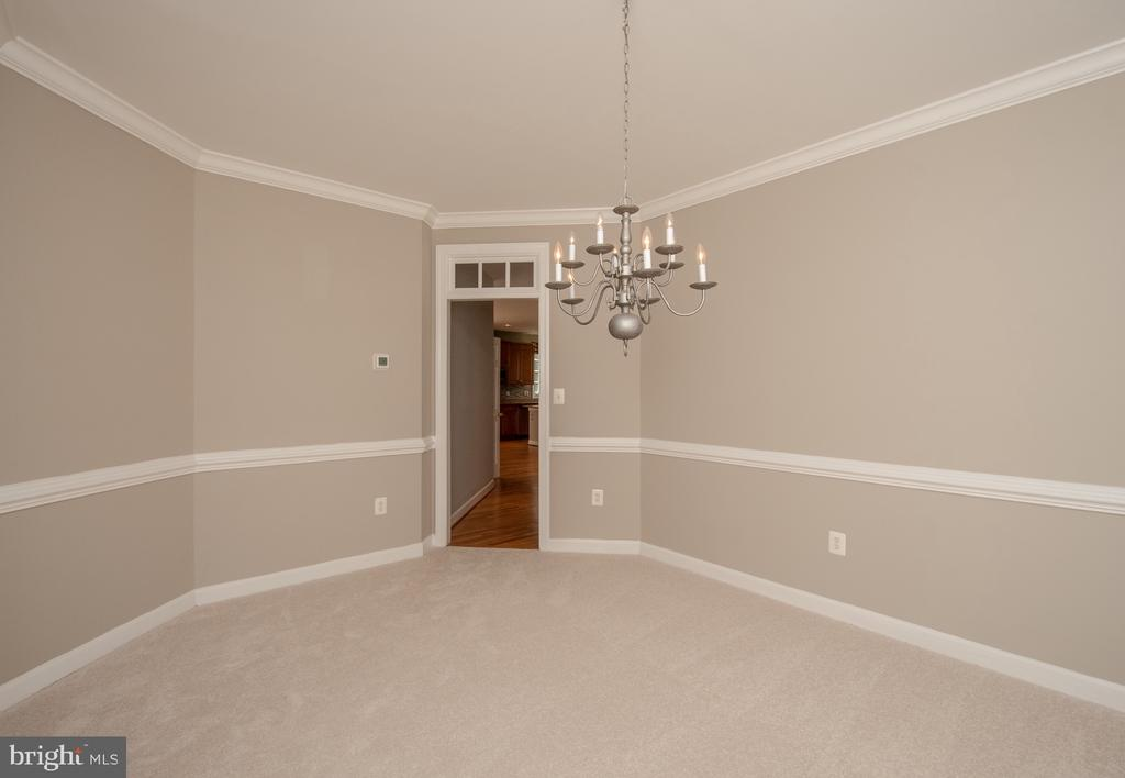 Dining room - 18621 KERILL RD, TRIANGLE