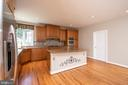Kitchen main level - 18621 KERILL RD, TRIANGLE