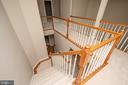 Stair view - 18621 KERILL RD, TRIANGLE