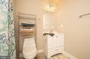 Basement bath - 18621 KERILL RD, TRIANGLE