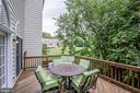 Convenient deck allows for outdoor living - 3162 GROVEHURST PL, ALEXANDRIA