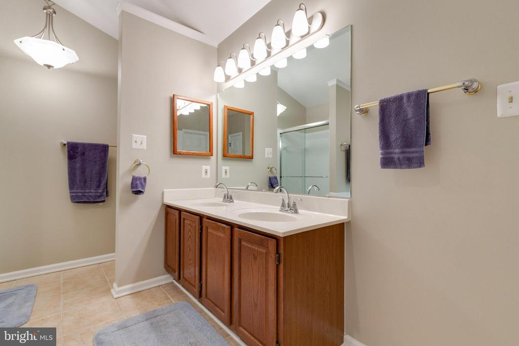 Double sink in Primary Bath - 15697 THISTLE CT, DUMFRIES