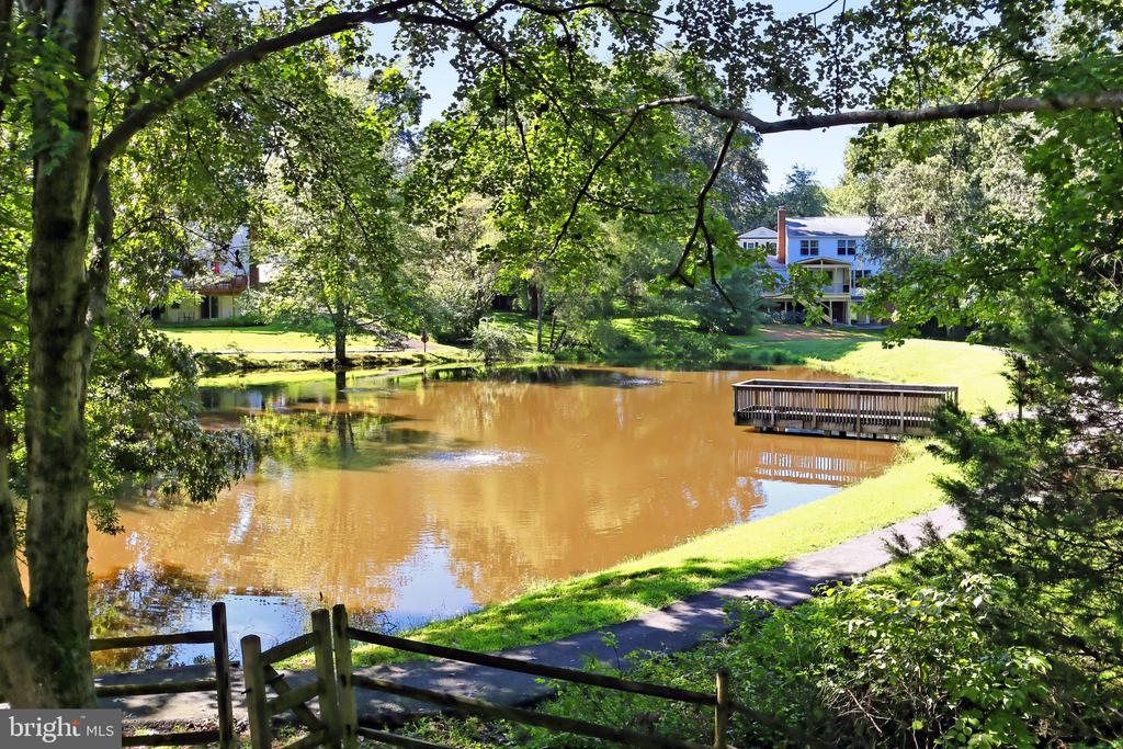 Bryce Pond offers a quiet retreat - 9637 LINCOLNWOOD DR, BURKE