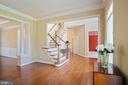 Refinished Hardwood Floors and Upgraded Stairs - 22554 FOREST RUN DR, ASHBURN