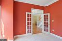 Home Office w/ French Door Entry off of the Foyer - 22554 FOREST RUN DR, ASHBURN