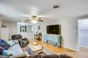 Great flow to house - 12400 TOLL HOUSE RD, SPOTSYLVANIA
