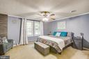 Master bedroom - 12400 TOLL HOUSE RD, SPOTSYLVANIA