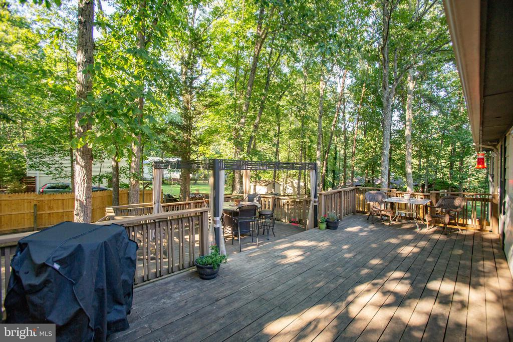 Enjoy your morning coffee - 12400 TOLL HOUSE RD, SPOTSYLVANIA