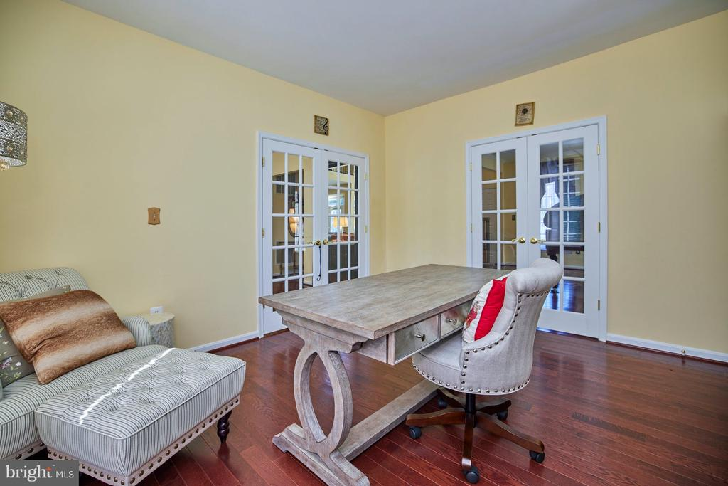Double French Doors in Main Level Office - 9032 PADDINGTON CT, BRISTOW