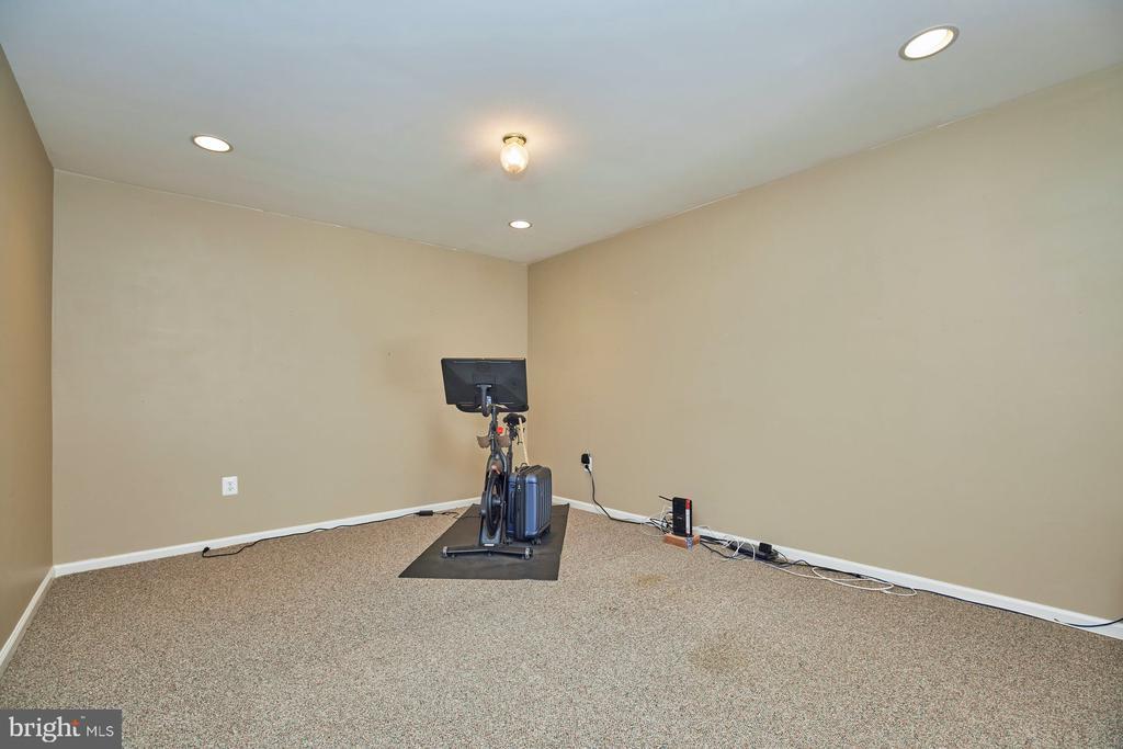 Lower Level Exercise Area - 9032 PADDINGTON CT, BRISTOW