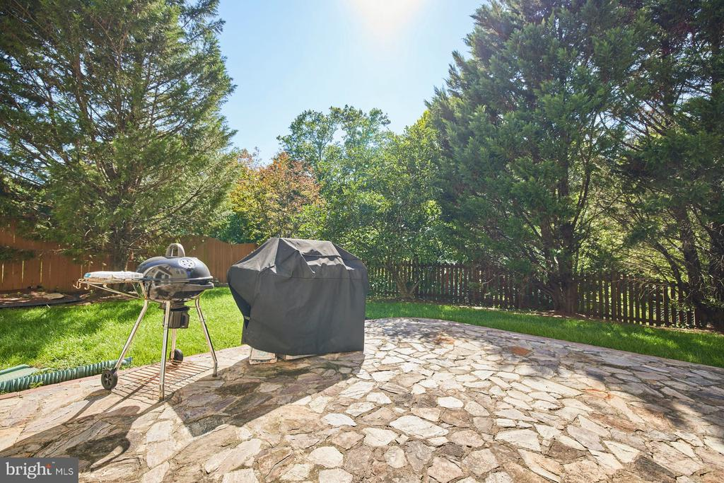 Patio from the Lower Level Walkout - 9032 PADDINGTON CT, BRISTOW