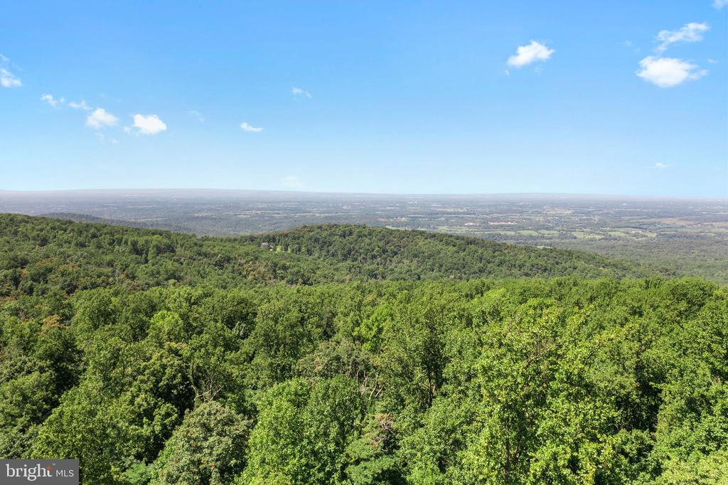 VIEW TO THE WEST - 19079 BLUERIDGE MOUNTAIN RD, BLUEMONT
