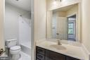 Upstairs Full Bathroom - 44021 EASTGATE VIEW DR, CHANTILLY