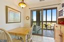 Lovely eat in space in kit with a view of outside - 19375 CYPRESS RIDGE TER #711, LEESBURG