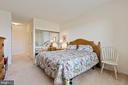 Primary bedroom - 19375 CYPRESS RIDGE TER #711, LEESBURG