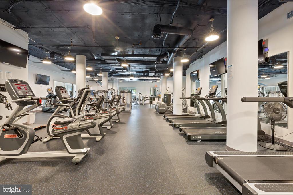 excellent gym - 19375 CYPRESS RIDGE TER #711, LEESBURG