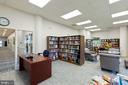 The library - 19375 CYPRESS RIDGE TER #711, LEESBURG