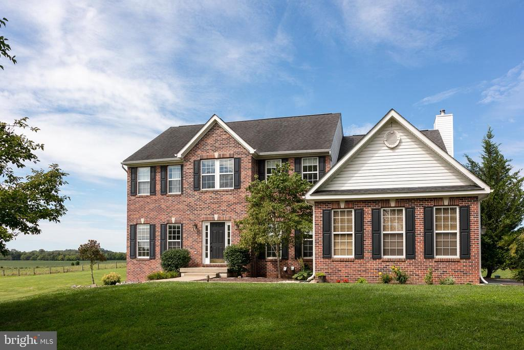 Stately Colonial with Brick Facade - 348 RUDDER ROAD, SHEPHERDSTOWN