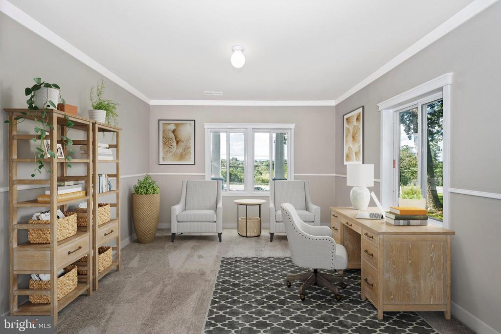 Home Office - Staged To Perfection (Guest Room) - 6121 QUINN RD, FREDERICK