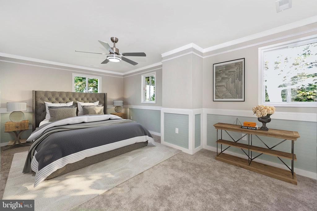 Upper Level Primary Bedroom w/ Mountain Views - 6121 QUINN RD, FREDERICK