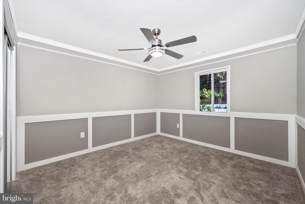 Bedroom #2 - With Beautiful Pergola View - 6121 QUINN RD, FREDERICK