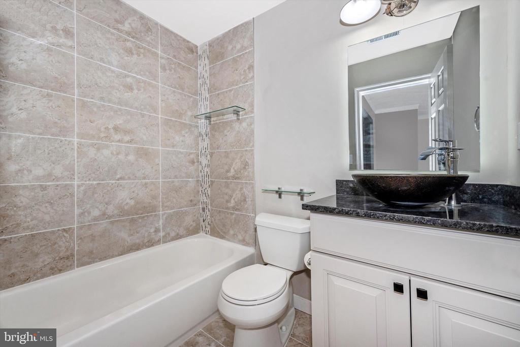 Upper Level Hall Bath w/ Bluetooth Mirror #2 - 6121 QUINN RD, FREDERICK