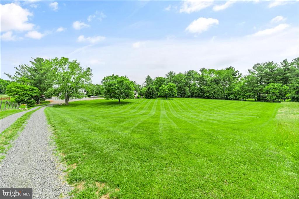 Drive leading to property - 37872 CHARLES TOWN PIKE, HILLSBORO