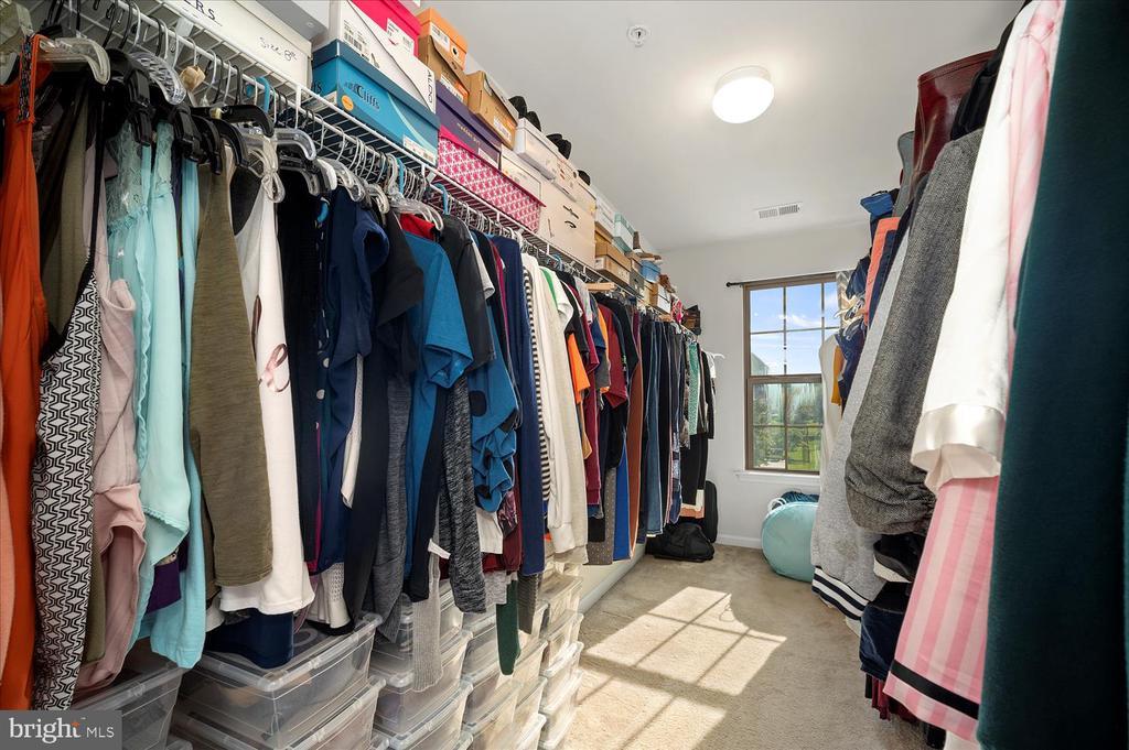 Huge walk in closet in primary bedroom - 17105 SEA SKIFF WAY, DUMFRIES