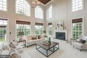 Incredible Family Room with Access to Deck - 16302 HUNTER PL, LEESBURG