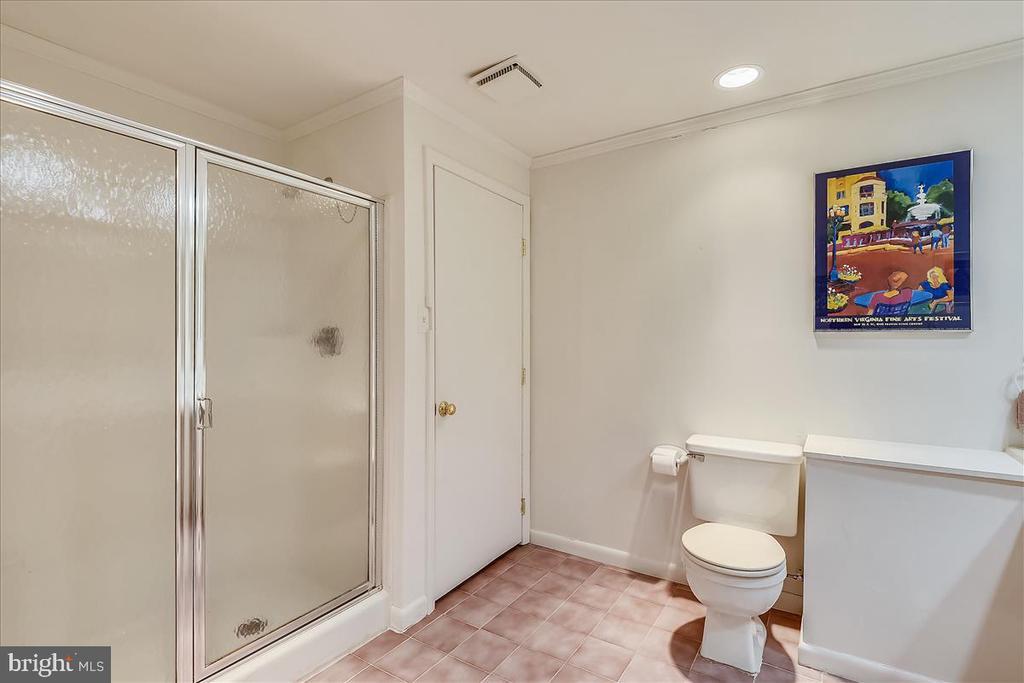 Lower level full bathroom view 2 - 10722 CROSS SCHOOL RD, RESTON