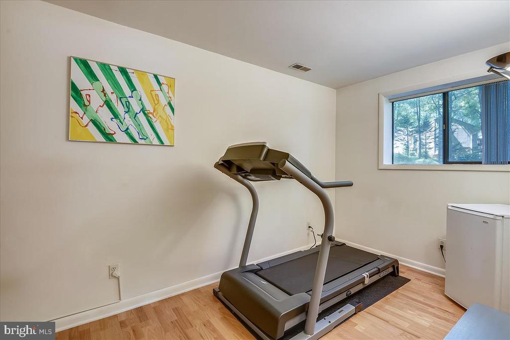 Lower level exercise room / flex space - 10722 CROSS SCHOOL RD, RESTON