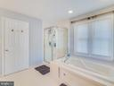Jetted Tub and Separate Shower in Primary Bath - 304 RAFT CV, STAFFORD