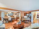 Formal Living Room w/Hardwoods & French Doors - 304 RAFT CV, STAFFORD