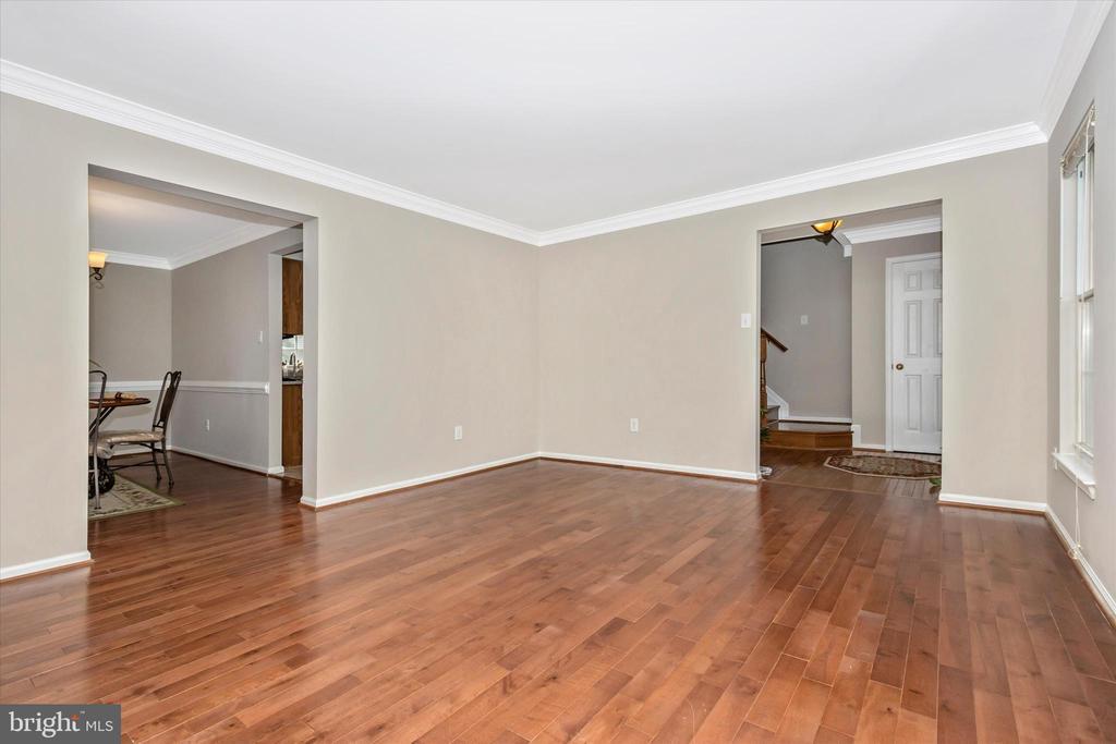 Living room - 1418 CRESCENT SPOT LN, FREDERICK